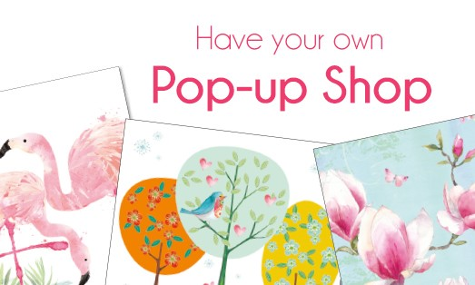 Have your own Pop-up Shop
