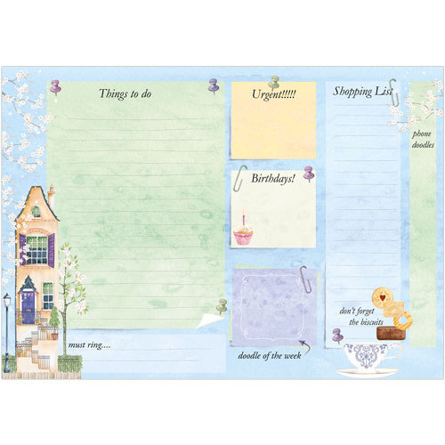Weekly Planner Tall House