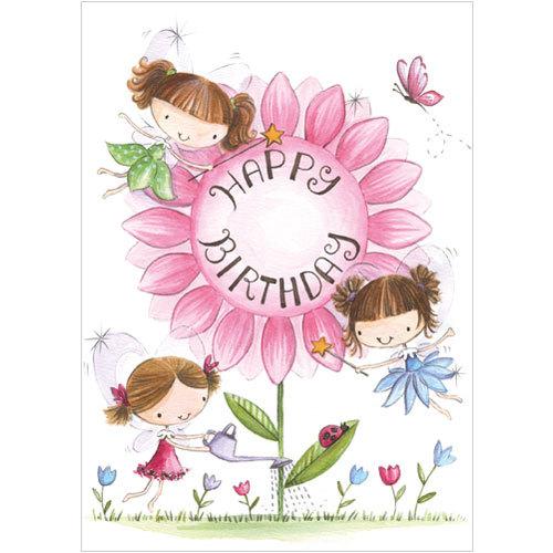 Fairy Flower Birthday
