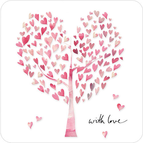 With Love Heart Tree