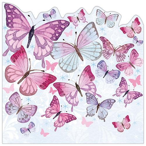 Pink Butterfly Cloud