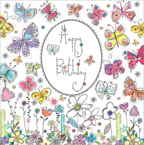 Pretty Flowers (Happy Birthday)