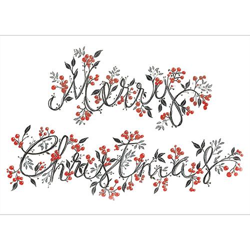 Merry Christmas Berries