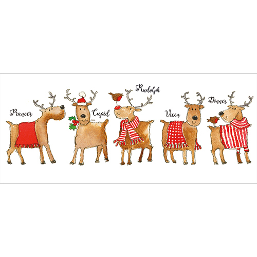 Rudolph And Friends Money Wallet
