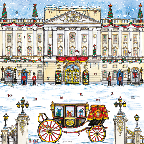 Buckingham Palace Adv Cal Card