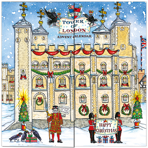 Tower Of London Advent Calendar
