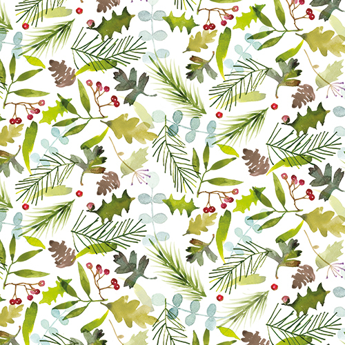 Christmas Foliage (1 Sheet)
