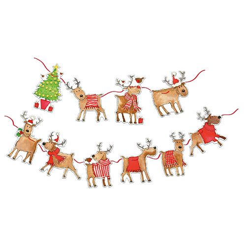 Rudolph And Friends Bunting