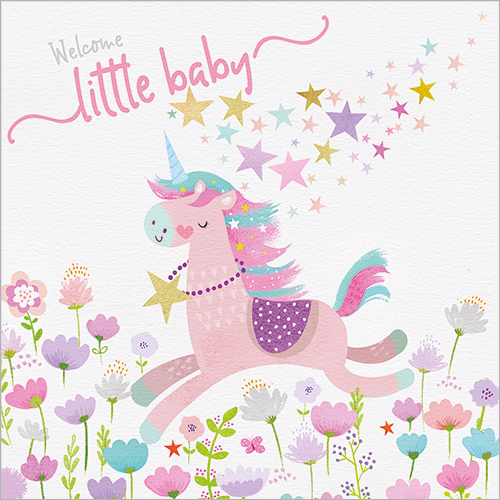 Little Pink Unicorn (Baby)