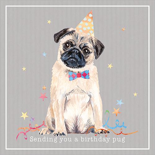 A Birthday Pug