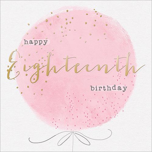 Happy Eighteenth