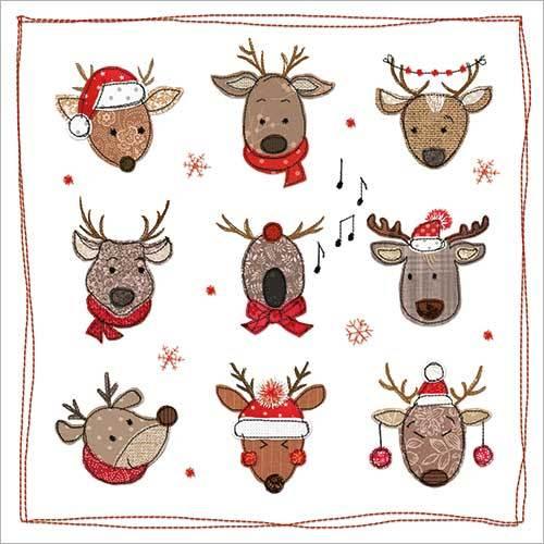 Christmas Reindeer (Pack Of 8)