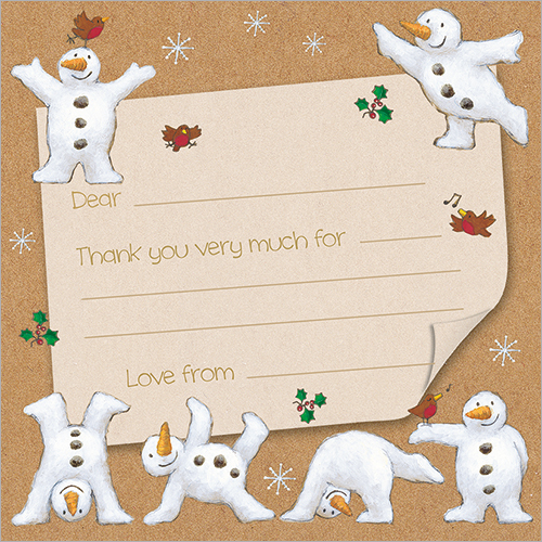 Snowmen Note Cards