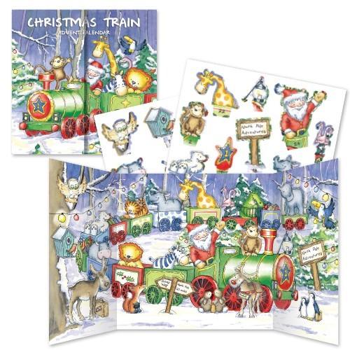 Christmas Train Advent Calendar
