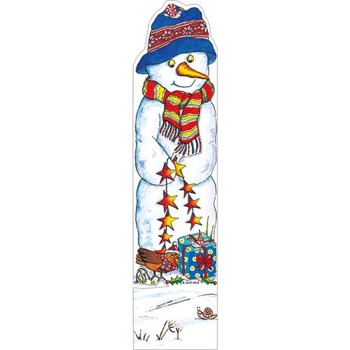 Snowman - Bookmark