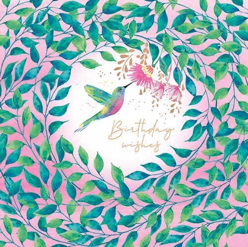 Hummingbird Birthday