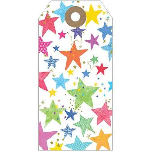 Multicolour Stars (Pack Of 5)