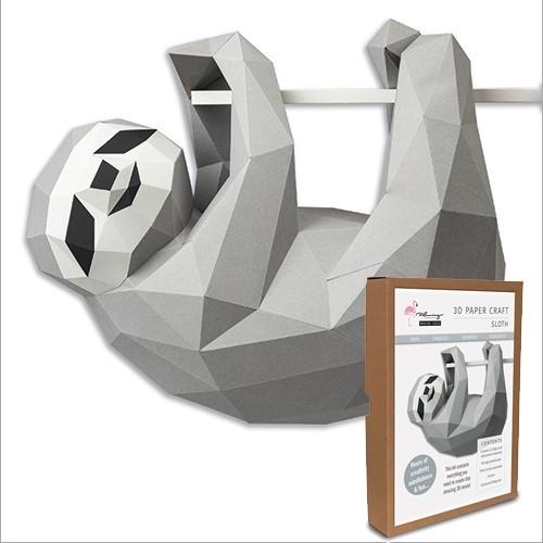 3D Model Kit - Sloth