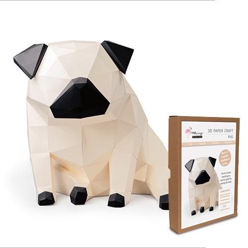 3D Model Kit - Pug