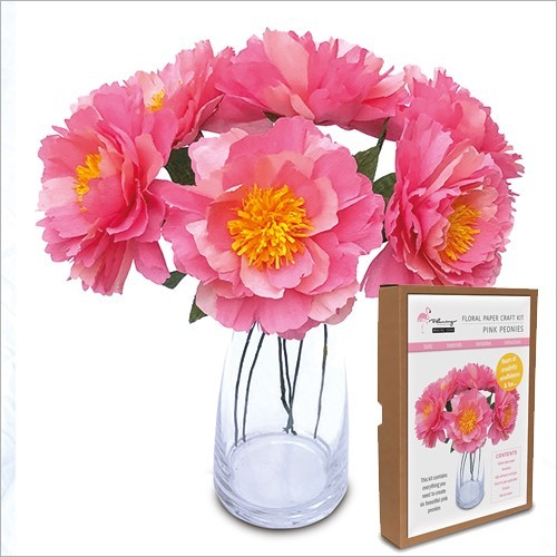 Floral Craft Kit - Peonies