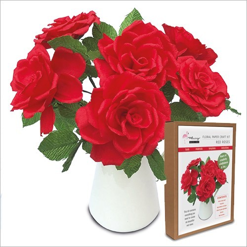 Floral Craft Kit - Roses
