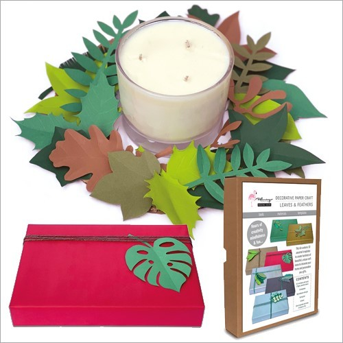 Craft Kit - Leaves & Feathers