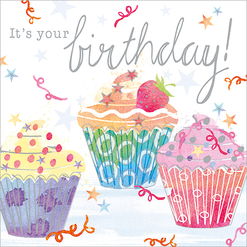 It's Your Birthday (Cupcakes)