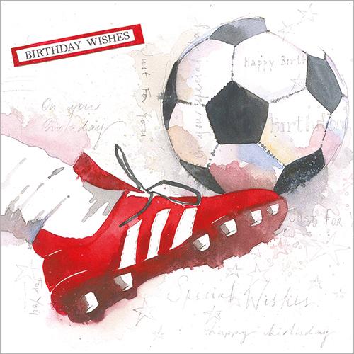 Birthday Footballer