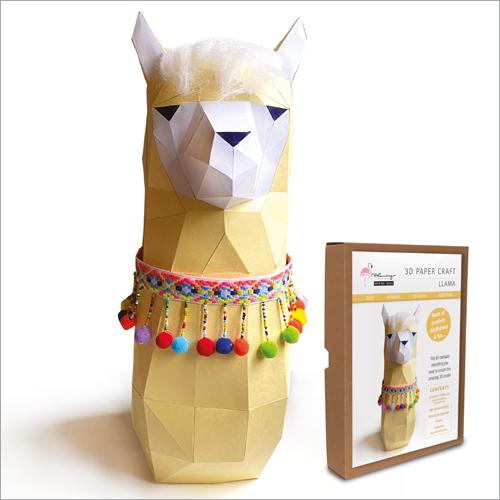 3D Model Kit - Llama