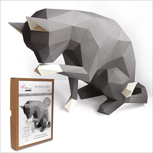 3D Model Kit - Cat