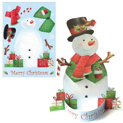 Snowman (Single Card)