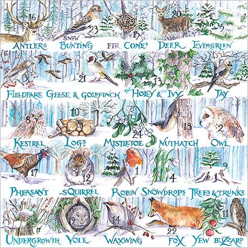 Winter Alphabet Advent Calendar