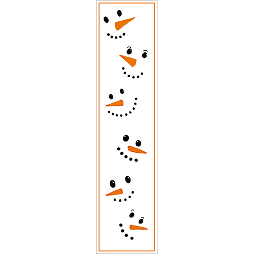 Frosty Face Bookmark
