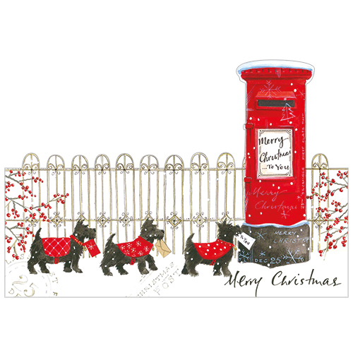 Christmas Post (Pack Of 8)
