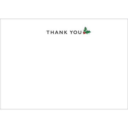 Christmas Thank You (Pack Of 10)