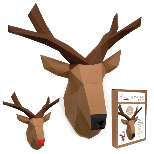 3D Model Kit - Reindeer