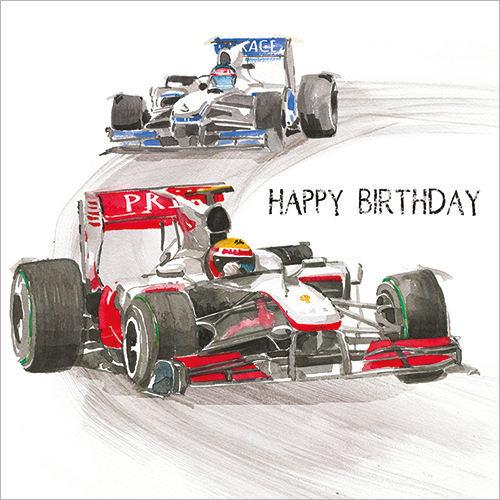 Racing Cars (Happy Birthday)