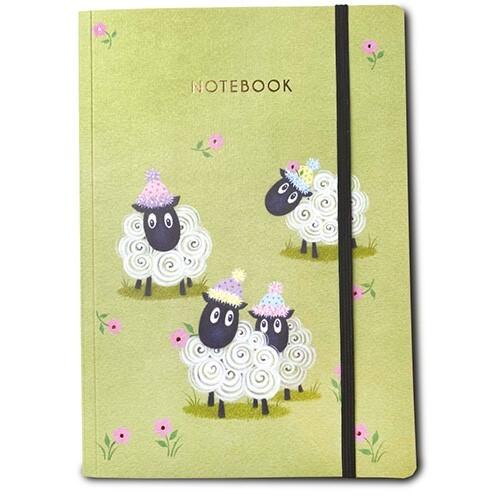 Sheep Notebook A5