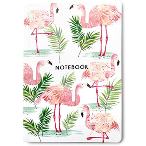 Flamingos Notebook A6