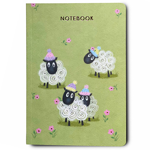 Sheep Notebook A6