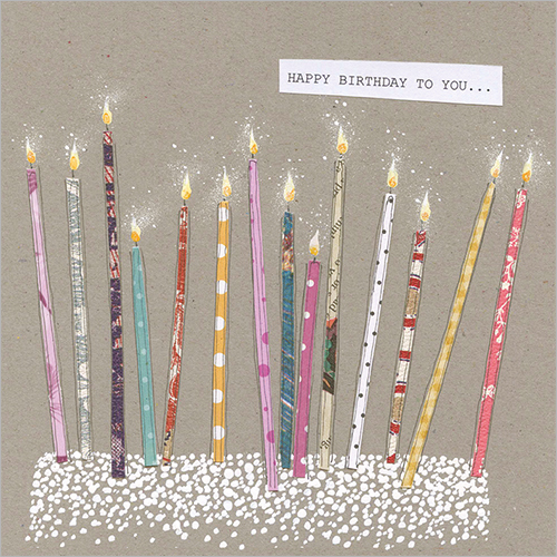 Happy Birthday To You (Candles)