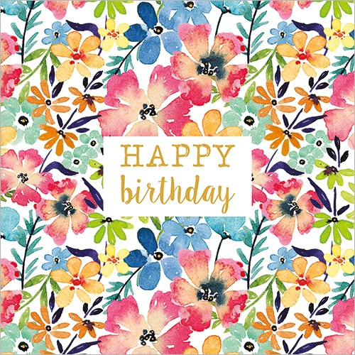 Bright Flowers (Happy Birthday)
