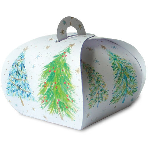Christmas Trees - Gift Boxes (Pack Of 5)