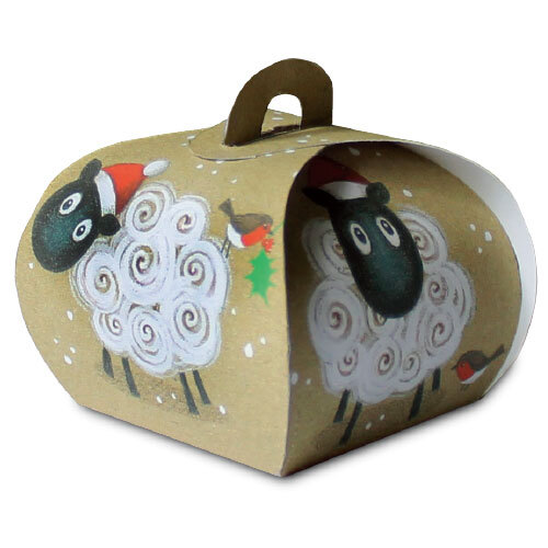 Christmas Sheep - Gift Boxes (Pack Of 5)