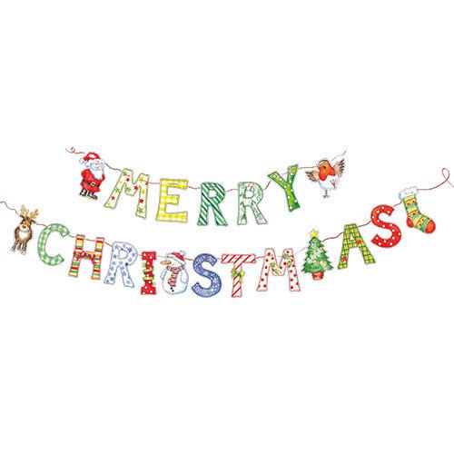 Merry Christmas - Bunting