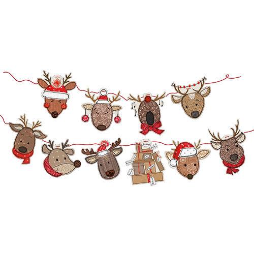 Christmas Reindeer - Bunting