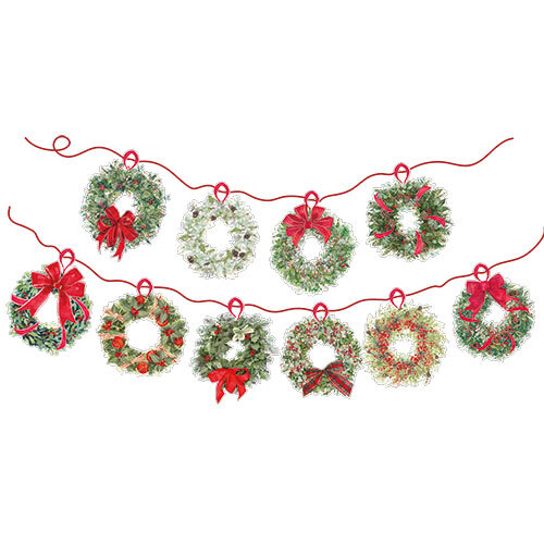 Wreaths - Bunting