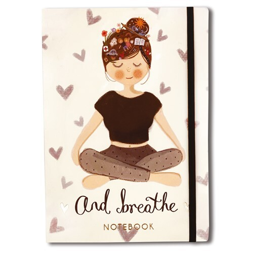 ... And Breathe A5 Notebook